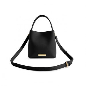 Katie Loxton Black  Lucie Crossbody Bag | More Than Just A Gift