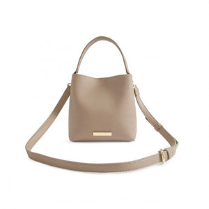 Katie Loxton Taupe  Lucie Crossbody Bag | More Than Just A Gift