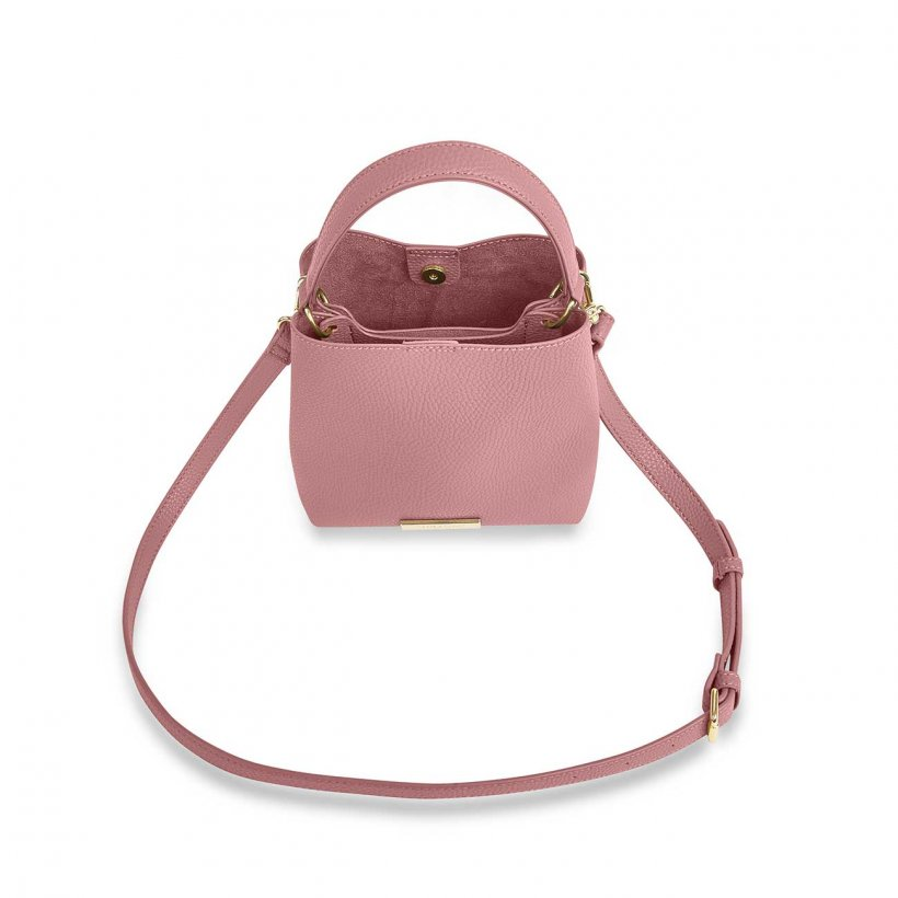 Katie Loxton Pink Lucie Crossbody Bag