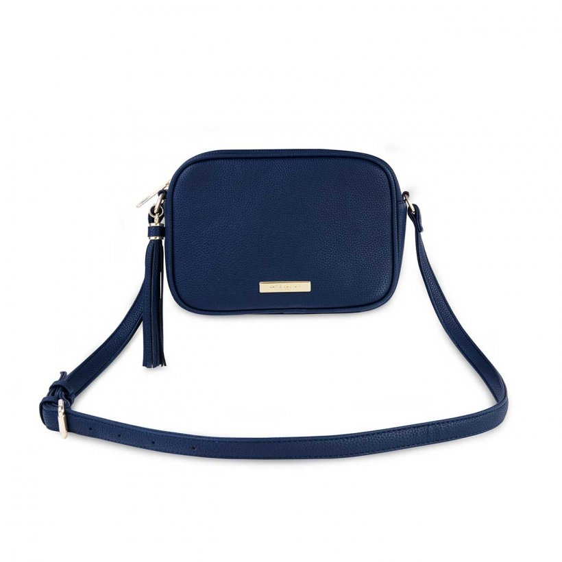 Katie Loxton Navy  Sophia Tassel Crossbody Bag | More Than Just A Gift