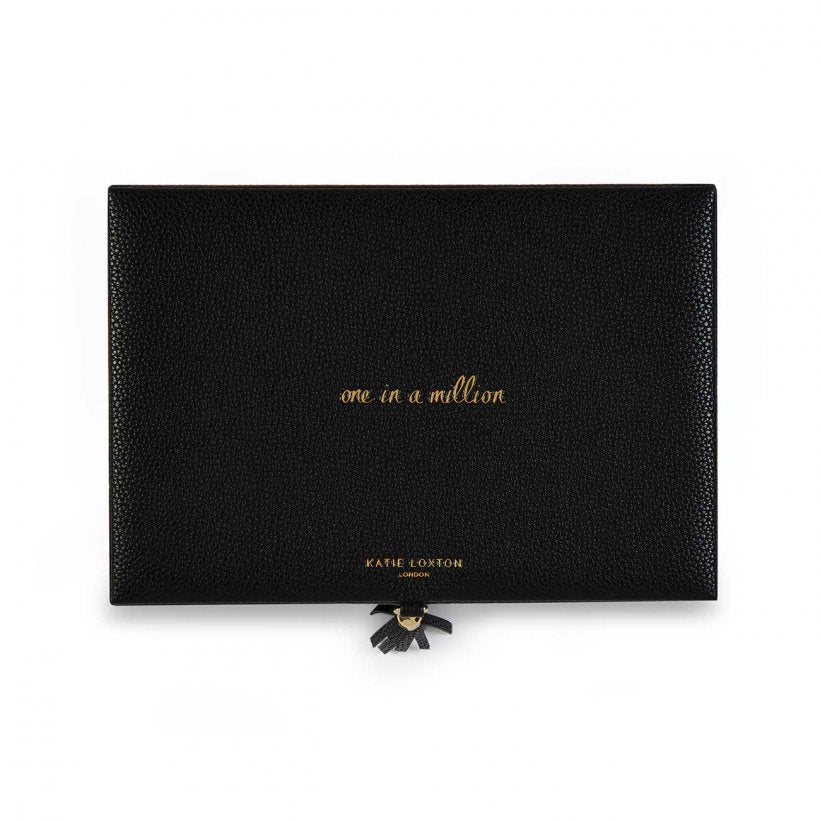 Katie Loxton One In A Million Black Tassel Jewellery Box