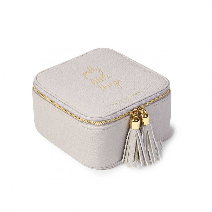 Katie Loxton Pretty Little Things Square Jewellery Box- Stone