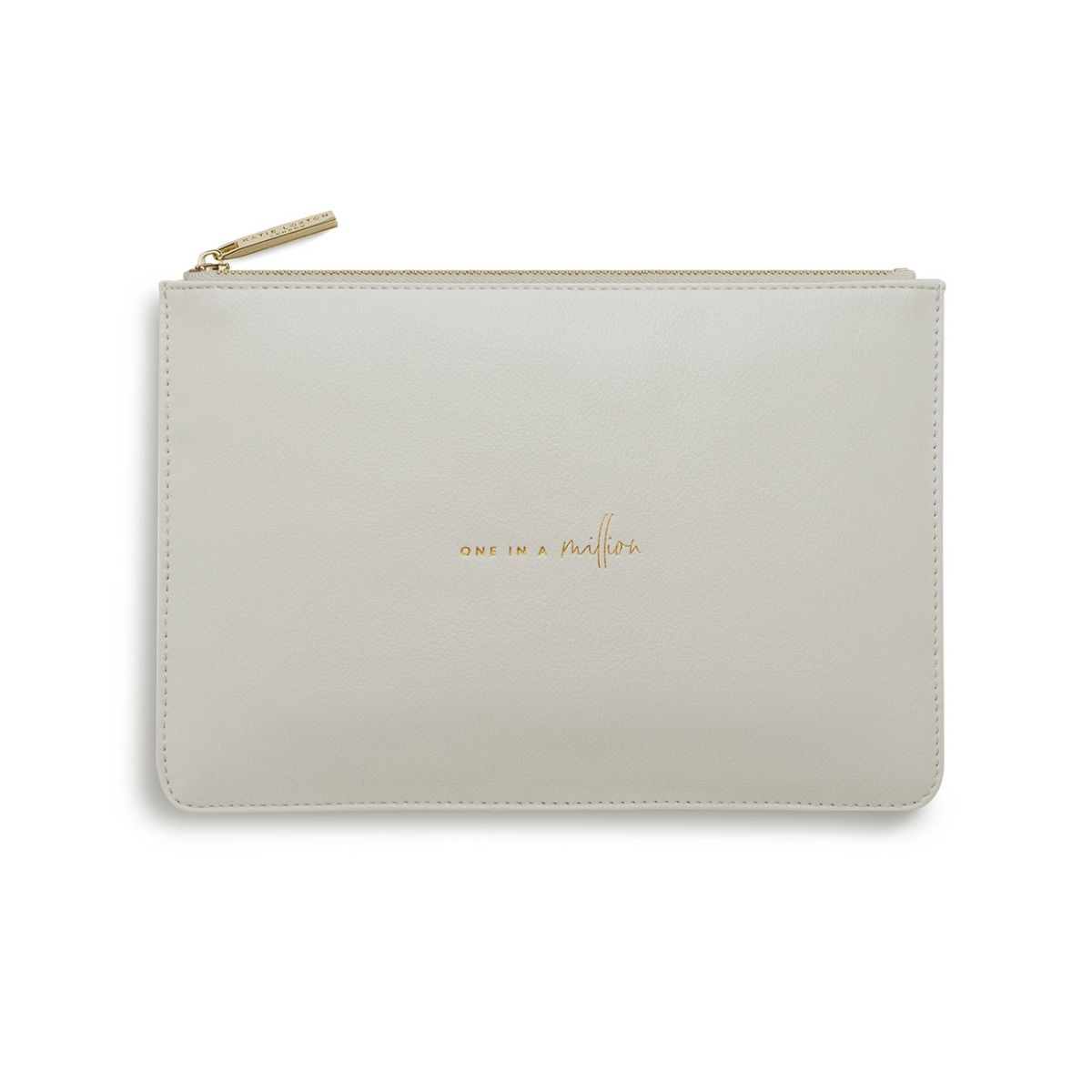 Katie Loxton One in a Million Perfect Pouch - pale grey