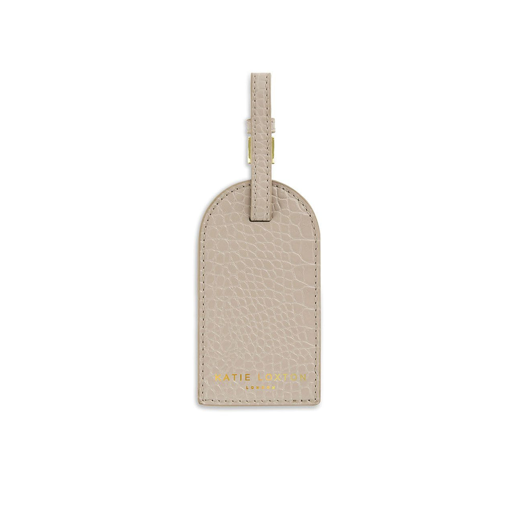 Katie Loxton Oyster Celine Croc Luggage Tag | More Than Just A Gift