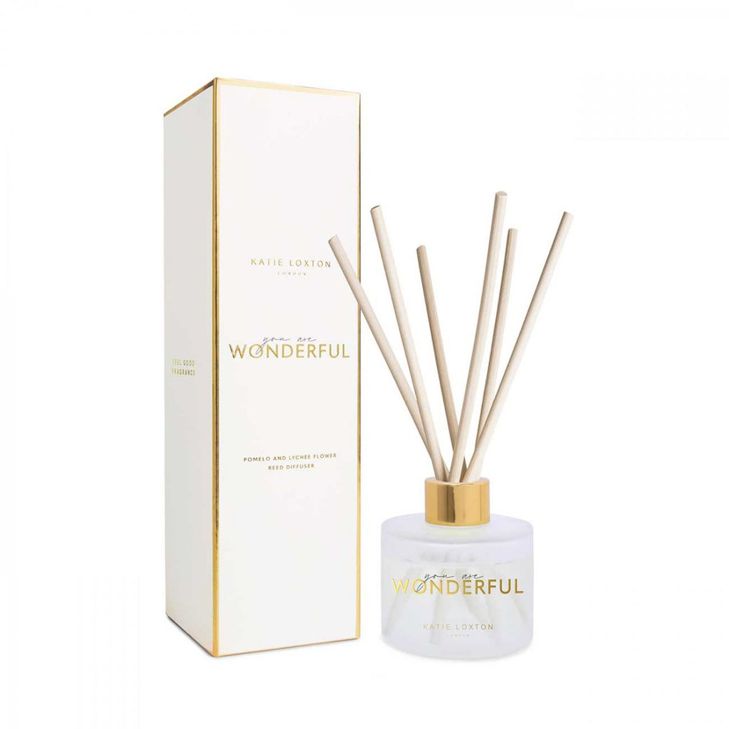 Katie Loxton You Are Wonderful Sentiment Reed Diffuser