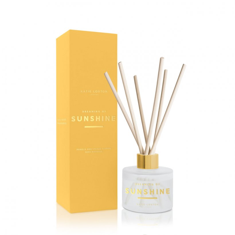 Katie Loxton Sentiment Reed Diffuser Life Is Beautiful | Dreaming of Sunshine | More Than Just A Gift