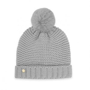Katie Loxton Grey  Chunky Knit Hat | More Than Just A Gift