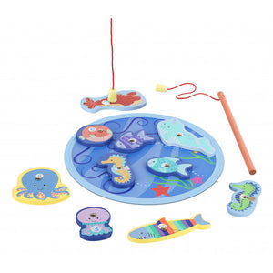 Orange Tree Toys Sealife Fishing Game