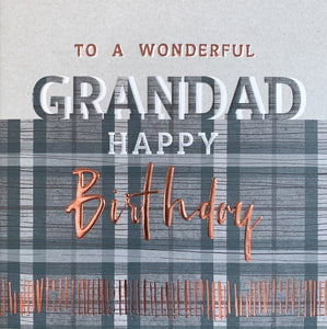 Manifold - Wonderful Grandad Birthday Card |More Than Just A Gift