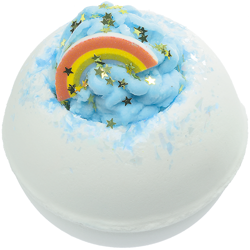 Bomb Cosmetics Over the Rainbow Bath Blaster