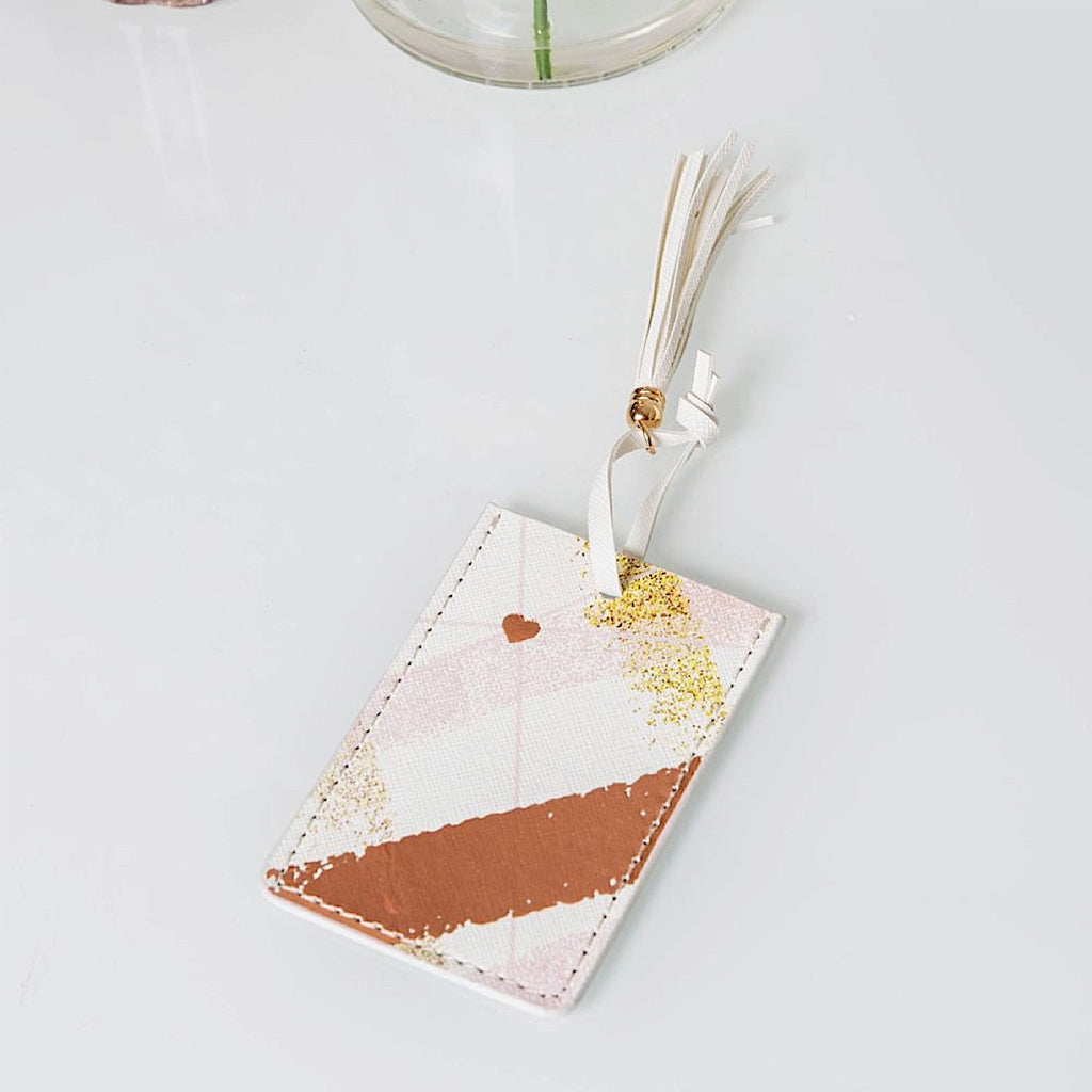 Estella Rose Gold Luggage Tag