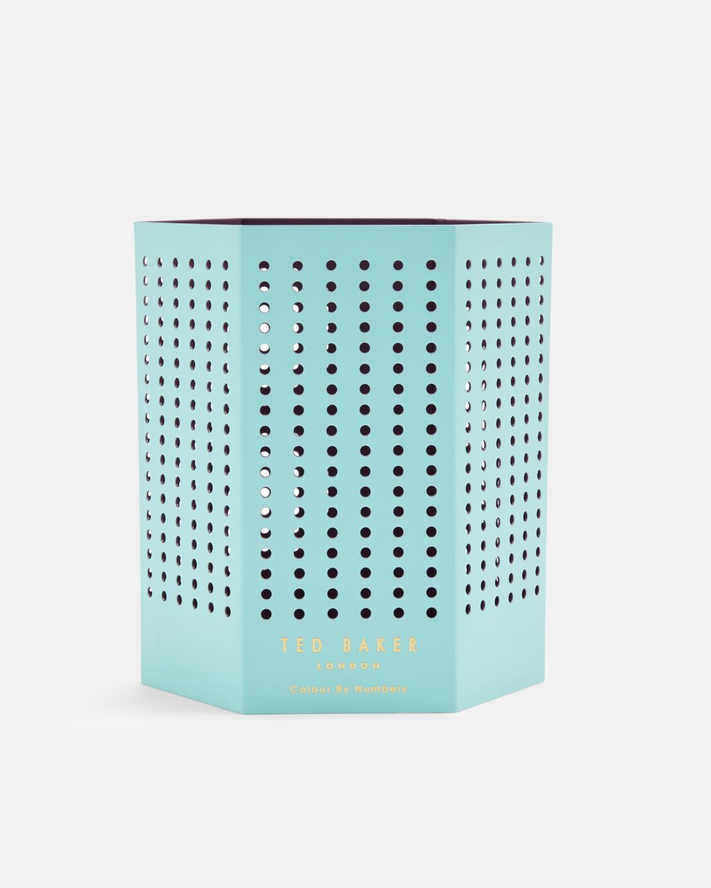 Ted Baker Pen Pot with Magnets Mint Colour By Numbers