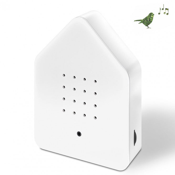 Zwitscher Twittering Bird House - White