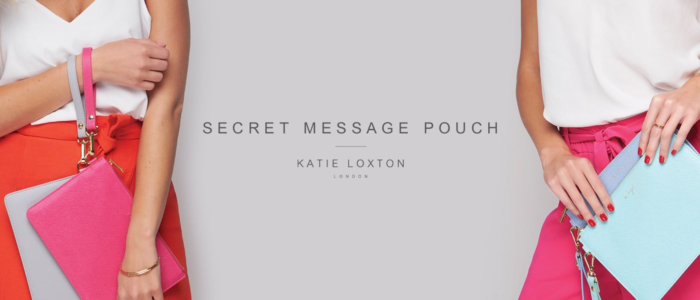 Katie Loxton Secret Message Pouches
