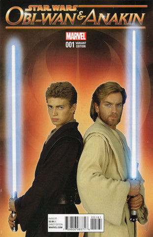 Obi-Wan & Anakin #1 (1 in 20 Movie Variant)