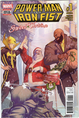 Power man & Iron Fist Sweet Xmas Annual #1
