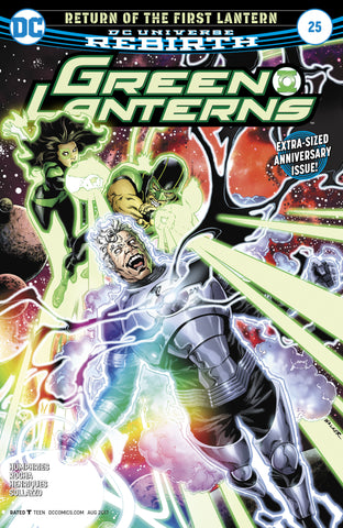 Green Lanterns #25 (Note Price)