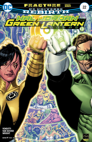 Hal Jordan And The Green Lantern Corps #22
