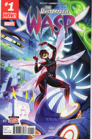 The Unstoppable Wasp #1 (Now)