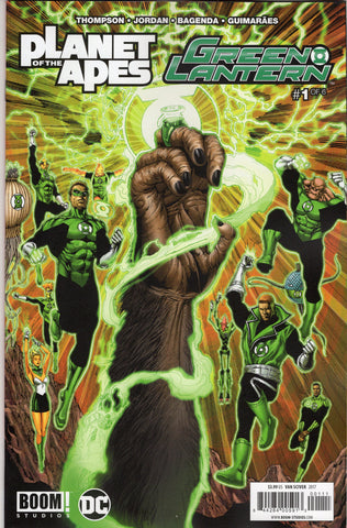 Plant of the Apes/Green Lantern #1