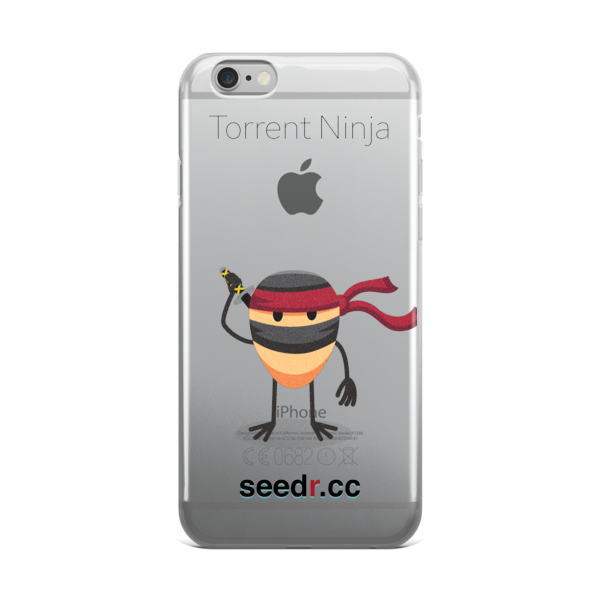 Torrent Ninja iPhone case