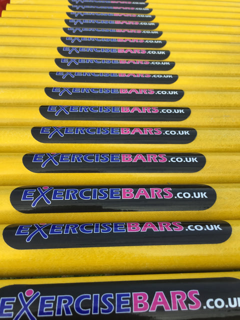 Fibreglass cross bar 1.5m long (Yellow) and special fittings