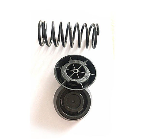 Coil spring, foot pack and fixings