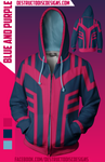 Blue and Purple Hoodie! [Limited]
