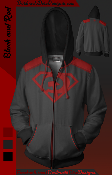 Black and Red Hoodie [LIMITED] [OLD SIZING]
