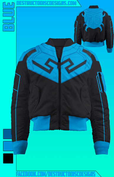Blue Bomber Jacket! [LIMITED] [OLD SIZING]