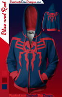 Blue and Red Hoodie [Limited] [OLD SIZING]