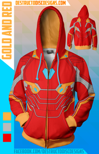 Gold and Red Hoodie! [OLD SIZING] [LIMITED]