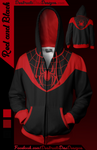 Red and Black Hoodie [Limited]