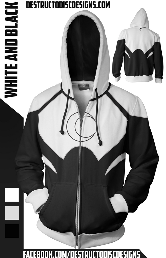 Black and White Hoodie [Limited]
