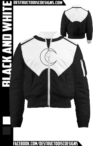 Black and White Bomber Jacket! [LIMITED]