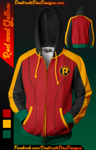 Red and Yellow Hoodie
