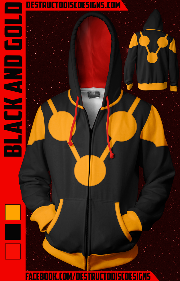 Black and Gold Hoodie! [Limited]
