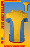 Blue and Yellow Shirt