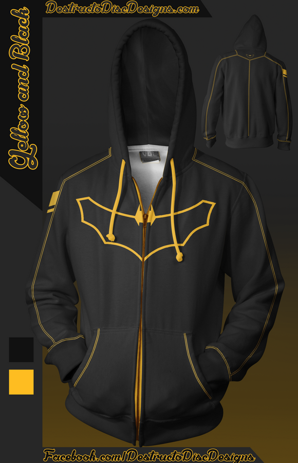 Yellow and Black Hoodie [LIMITED]
