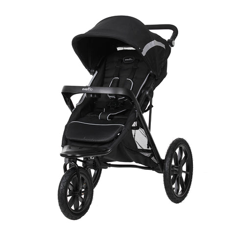 Invigor8 Platinum Jogging Stroller – Black