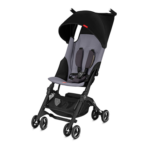 Pockit+ Stroller – Silver Fox Grey