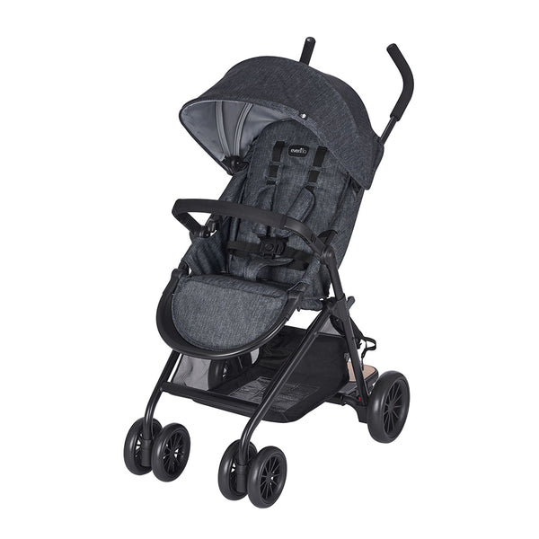 Sibby Stroller With Kidboard – Charcoal
