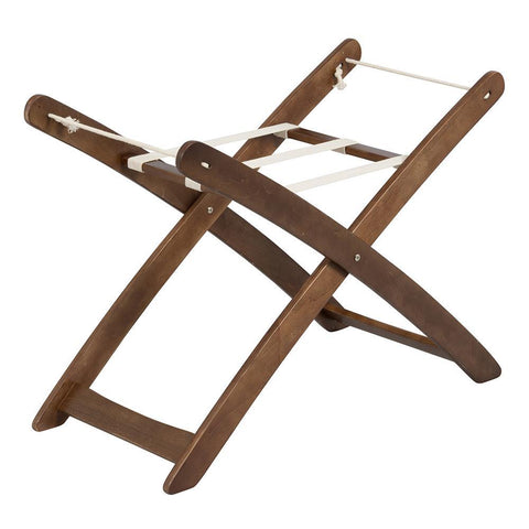 Bebe Care Moses Basket Stand - espresso-Nursery Furniture-Bebe Care-Baby Undercover