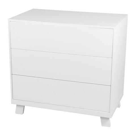 Casa 3 Draw Chest – White-Nursery Furniture-Bebe Care-Baby Undercover
