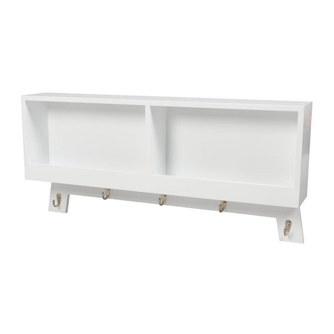 Casa Hook Wall Storage – White-Nursery Furniture-Bebe Care-Baby Undercover