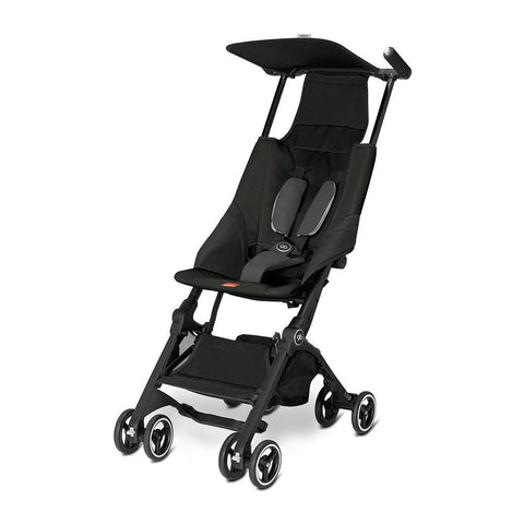 GB Pockit Stroller Monument Black-Stroller-GB-Baby Undercover