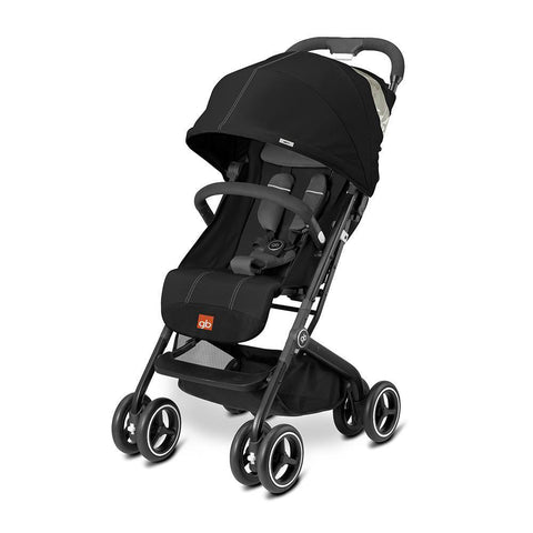 GB Qbit+ Stroller Monument Black-Stroller-GB-Baby Undercover