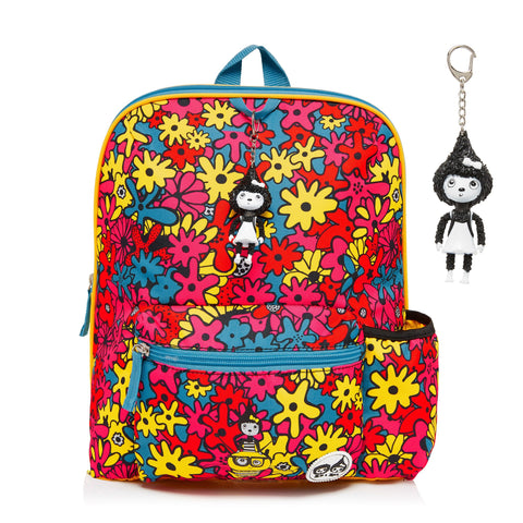Kid's Backpack Floral Brights (Age 3plus)-Bag-Babymel-Baby Undercover