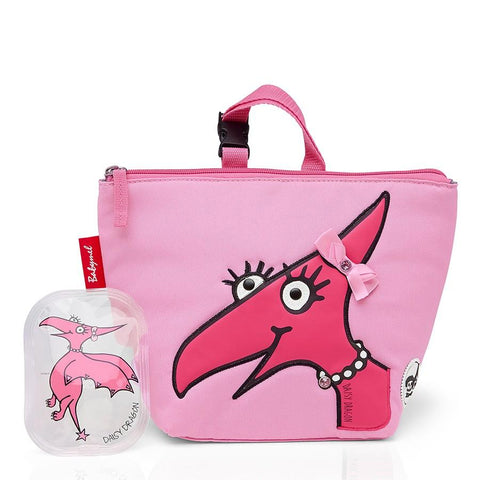 Lunch Bag and Ice Pack Daisy Dragon Face-Bag-Babymel-Baby Undercover