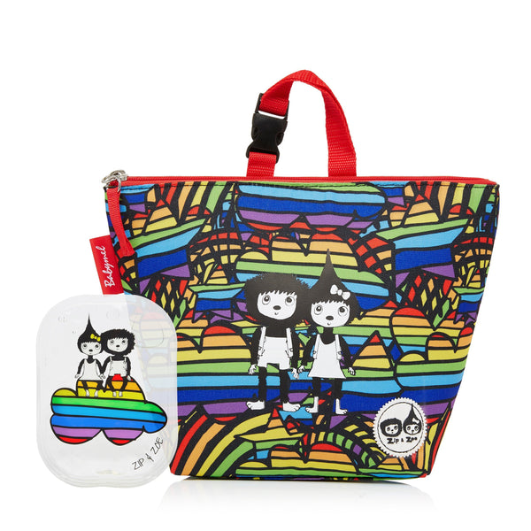 Lunch Bag and Ice Pack Rainbow Multi-Bag-Babymel-Baby Undercover